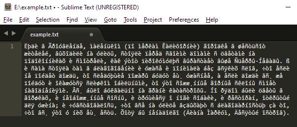 Исправление кодировки (шаг 2)